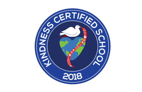 Kindness Certified School 2018 Cling