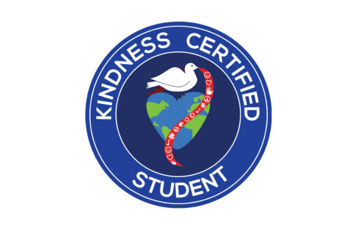Kindness Certified Student Sticker